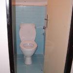 Záchody v patře
